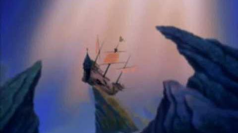 The Little Mermaid II Return to the Sea - Tip and Dash