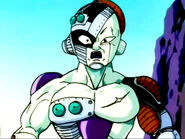 Frieza shocked and terrifed at Future Trunks