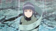 Hinata afetada pelo genjutsu