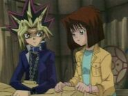 Yami Yugi and Tea