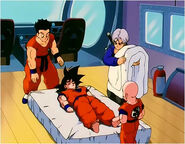 Yamcha, Future Trunks and the others