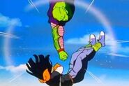 17 is hit by Piccolo