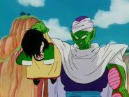 Piccolo wakes Gohan up