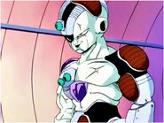Frieza see the Planet Earth
