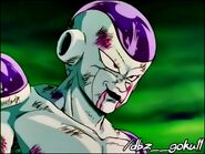 Frieza taunts Gohan is his father and grandparents
