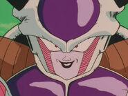 Frieza's evil grin