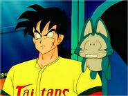 Yamcha and Puar about Goku's death