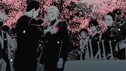 Iruka with Naruto at his wedding