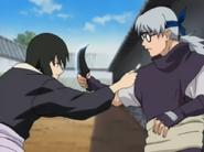 Shizune vs Kabuto