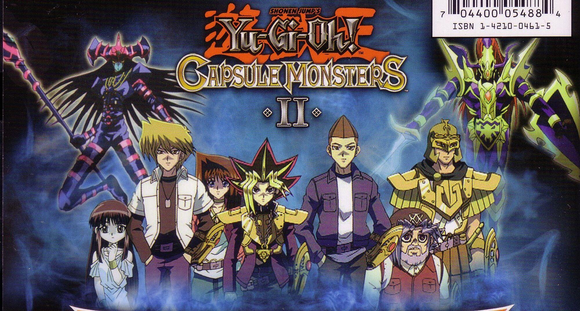 Yugioh Capsule Monsters