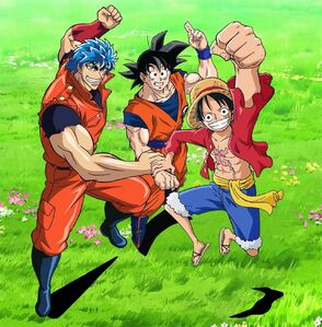 DBZ One Piece Toriko
