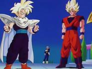 Goku e Gohan cambiano vestiti