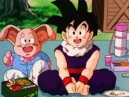 Gohan and Oolong in Broly - The Legendary Super Saiyan