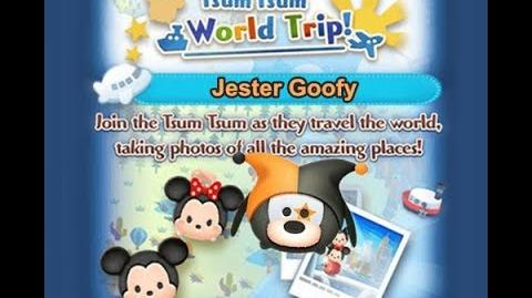 Disney Tsum Tsum - Jester Goofy (Tsum Tsum World Trip - 1st Trip 2 - 3)