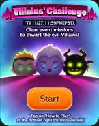 DisneyTsumTsum Events International Villains StartScreen 201611