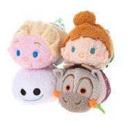 DisneyTsumTsum PlushSetBag FrozenFever jpn 2015 Mini 5