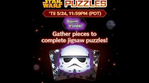 Disney Tsum Tsum - Stormtrooper (Star Wars Puzzles Event)