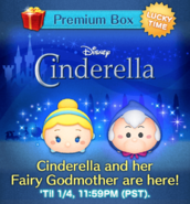 DisneyTsumTsum LuckyTime International CinderellaFairyGodmother Screen1 201701
