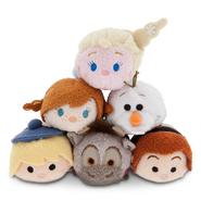 DisneyTsumTsum PlushSet Frozen Mini 2015