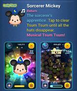 DisneyTsumTsum LuckyTime International ConductorMickeySorcererMickey Screen3 201611