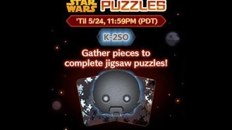 Disney Tsum Tsum - K-2SO (Star Wars Puzzles Event)