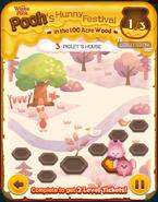 Pooh's Hunny Festival Card 3b