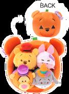 DisneyTsumTsum PlushSet PoohPumpkinHouse jpn 2016 Mini