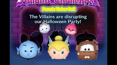 Disney Tsum Tsum - Parade Tinker Bell (Disney Villains' Challenge - Cruella Map 10)