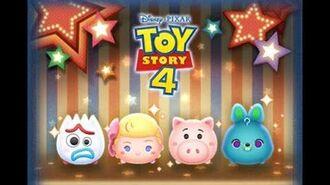Disney Tsum Tsum - Forky (JP ver) フォーキー