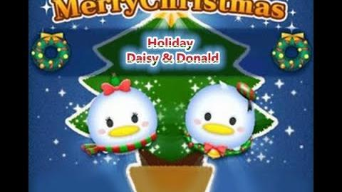 Disney Tsum Tsum - Holiday Daisy