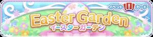Easter Garden Banner