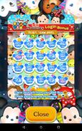 Tsum Tsum 5th Anniversary Login Bonus completed