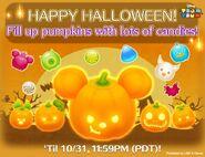 DisneyTsumTsum Events International Halloween2016 LineAd 201610
