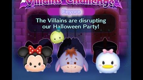 Disney Tsum Tsum - Eeyore (Disney Villains' Challenge - Jafar Map 11)