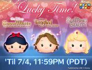 DisneyTsumTsum Lucky Time International Princesses LineAd 20160701