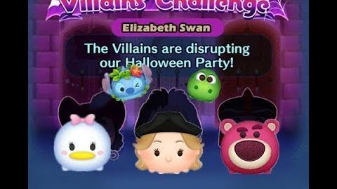 Disney Tsum Tsum - Elizabeth Swann (Disney Villains' Challenge - Cruella Map 6)