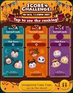Score Challenge! Oct19 Groups