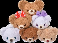 DisneyTsumTsum PlushSet UniBEARsity jpn 2016 Mini 8