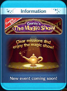 Genie's The Magic Show event coming soon!