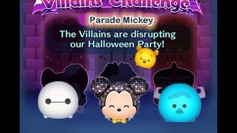 Disney Tsum Tsum - Parade Mickey (Disney Villains' Challenge - Jafar Map 8)
