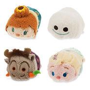 DisneyTsumTsum PlushSetBag FrozenFever Mini 2015 3