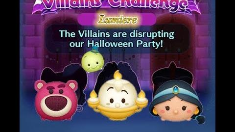 Disney Tsum Tsum - Lumiere (Disney Villains' Challenge - Jafar Map 4)