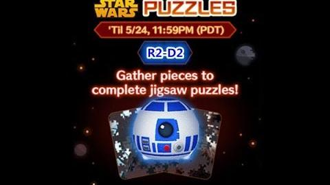 Disney Tsum Tsum - R2-D2 (Star Wars Puzzles Event)