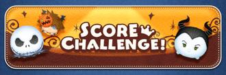 Score Challenge! Oct19 Banner
