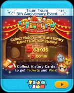 5th Anniversary Tsum Tsum History HtP