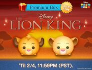 DisneyTsumTsum LuckyTime International SimbaNala LineAd 201702