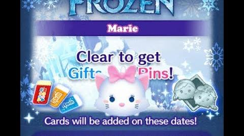 Disney Tsum Tsum - Marie (Frozen Event - Card 5 - 15)