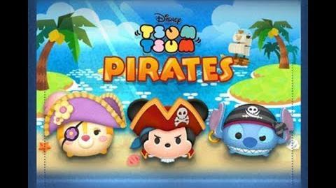 Disney Tsum Tsum - Pirate Mickey