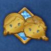 DisneyTsumTsum Pins Frozen Gold