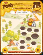 Pooh's Hunny Festival Card 4b